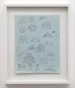 Christina Ramberg, Untitled (parquet shapes), N.D.