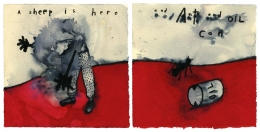 David Lynch, A Sheep Is Here and Ant and Oil Can