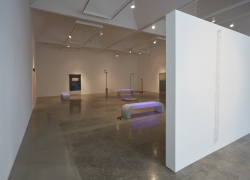 "Installation view of ""Rosha Yaghmai: The Courtyard"" at Kayne Griffin Corcoran, Los Angeles"
