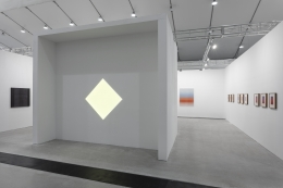 Installation view of Kayne Griffin Corcoran at West Bund Art & Design