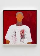 Huguette Caland Self Portrait in Smock, 1992