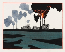 Ken Price (Refinery Red Border), 1993