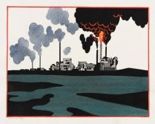 Ken Price (Refinery Red Border), 1993