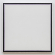 Jo Baer Untitled (White Square Lavender), 1964-1974