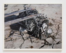 Justine Kurland, Chained Engine, 2013