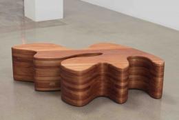 Sarah Crowner, Wooden Sculpture, 2020