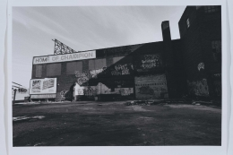 David Lynch, Untitled (Industrial, New York 0186:33)