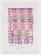 Henri Chopin, La voie et la trace - d'un prisme, 1984