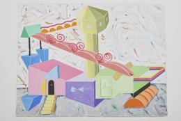 Peter Shire, Barbie's Ivory Tower, 1986