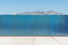 Olivier Mosset, MAMO, Christopher Grimes Gallery