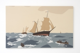 Voyage, Kota Ezawa, Christopher Grimes Gallery