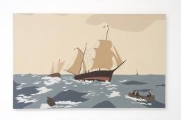 Voyage Kota Ezawa, Christopher Grimes Gallery