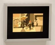 La Sortie du Pesage, Kota Ezawa, Christopher Grimes Gallery