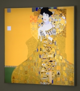 Adele Bloch-Bauer I, Kota Ezawa, Christopher Grimes Gallery