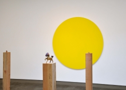 Olivier Mosset, Thom Merrick, Christopher Grimes Gallery