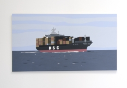Container Ship Kota Ezawa, Christopher Grimes Gallery