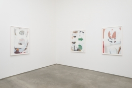 Kevin Appel Installation View Christopher Grimes Gallery 2017