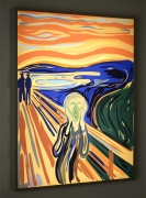 The Scream, Kota Ezawa, Christopher Grimes Gallery
