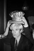 Andy Warhol Being Crowned Regine's, Paris, 1982