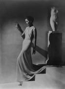 Toto Koopman, Evening Dress by Augustabernard, 1934, 20 x 16 Platinum Palladium on 24 x 20 Paper, Ed. 27