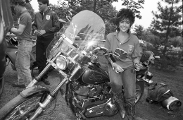 Elizabeth Taylor, Far Hills, New Jersey, 1988
