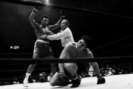 Muhammad Ali vs. Oscar Bonavena, December, 1970, 16 x 20 Silver Gelatin Photograph, Ed. 150