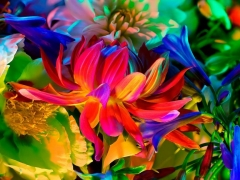 Electric Blossom #363, 2012, 18 X 23 inches, Archival Pigment Print, Edition of 10