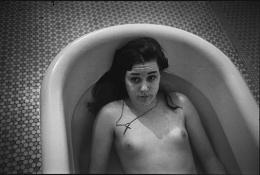 Laurie in the Tub, Ward 81, Salem, Oregon, 1976, Silver Gelatin Photograph