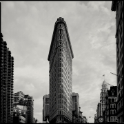Flatiron Building, 1988 (Plate 34), Combined Edition of 15 Photographs: