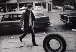 Jim Marshall Bob Dylan (with Tire), New York City, 1963