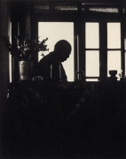 His Holiness the Dalai Lama, West Bengal, 1996, 15-1/4 x 12-1/2 Platinum Photograph, Ed. 25