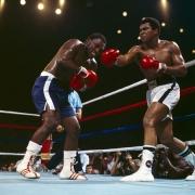 Muhammad Ali vs. Joe Frazier (Sports Illustrated Cover), Araheta Coliseum, Quezon City, Phillipines, October 1, 1975, 11 x 14 Color Photograph, Ed. 350