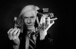 Andy with 2 Cameras, 1978