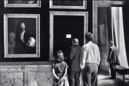 Versailles, 1975, 16 x 20 Silver Gelatin Photograph