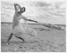 Allegra Kent, Golden Beach, FL, 1996 (10010-34-11), Silver Gelatin Photograph