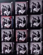 The Doors, Contact Sheet, n.d., 19 x 15-1/4 Color Photograph, Ed. 50