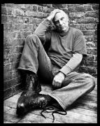 Richard Serra, New York, NY, 2002, 20 x 16 inches, Silver Gelatin Photograph, Ed. of 25