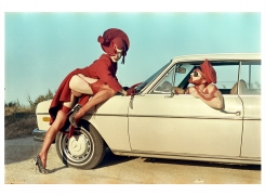 Mercedes 3, 2016, Archival Pigment Print