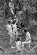 Woodstock, 1969, Silver Gelatin Photograph