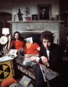 """Bob Dylan and Sally Grossman """"Bringing it All Back Home"""" Album Cover Out-Take, Woodstock, New York, 1965"""