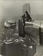 Oscar Graubner Margaret Bourke-White, working atop the Chrysler Building, NY, 1931