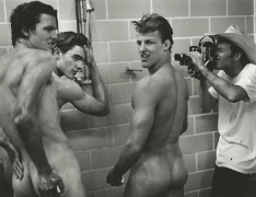 "Lance Acord Filming ""The Chop Suey Club,"" Miami, Florida, 1999, Silver Gelatin Photograph"