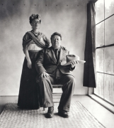 Frida Kahlo and Diego Rivera with Hat, c. 1939, 20 x 16 Platinum Photograph, Ed. 30