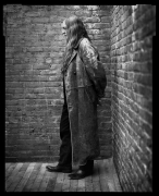 Willie Nelson, New York, NY, 2001, 20 x 16 inches, Silver Gelatin Photograph, Ed. of 25