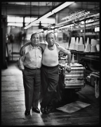 Jack and Sol Tavin, Brooklyn, NY, 1995, 20 x 16 inches, Silver Gelatin Photograph, Ed. of 25
