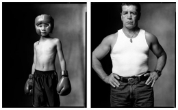 Young Boxer / Retired Boxer, 2002 / 2002, 20 x 32-1/2 Diptych, Archival Pigment Print, Ed. 20
