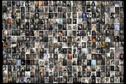 """""""364 Faces"""" Archival Pigment Print, Combined Ed. of 15"""