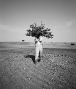 Man Acting as a Tree, Portugal, 1992, Archival Pigment Print