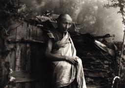 """Lobsang Tenzing"", Dharamsala, 1981, 8-11/16 x 6-1/4 Platinum Photograph, Ed. 25"