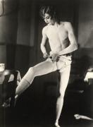 The Transvestite Barbette, Paris, 1926, 11-3/8 x 8-3/8 Silver Gelatin Photograph